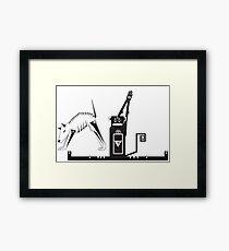 Yogi Animals Framed Print