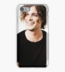 Matthew Gray Gubler smiling iPhone Case/Skin