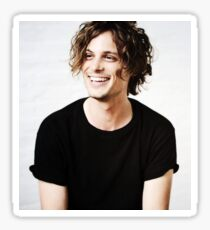 Matthew Gray Gubler smiling Sticker
