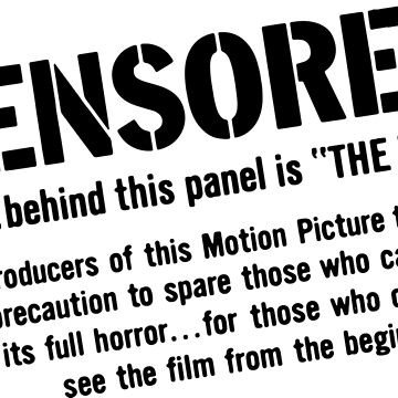 Censored!  by kaijucast
