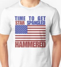 Star Spangled Hammered Unisex T-Shirt