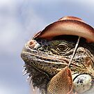 Hi, like my new hat? by Bente Agerup