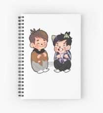 2009 Dan and Phil Spiral Notebook