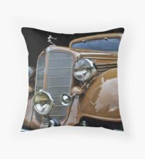 Old Car Photo - 1935 Buick Victoria Throw Pillow