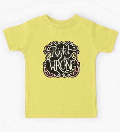 Right the Wrong Kids Clothes