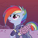 Rainbow Dash - Crystal Wars by Kimmorz