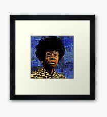 SHIRLEY CHISHOLM-9 Framed Print