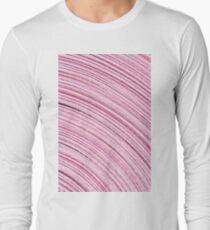 A Roll Of Pink Ribbon - Macro  Long Sleeve T-Shirt