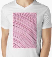 A Roll Of Pink Ribbon - Macro  Men's V-Neck T-Shirt