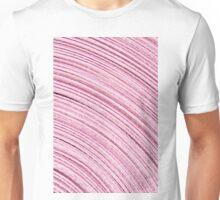 A Roll Of Pink Ribbon - Macro  Unisex T-Shirt
