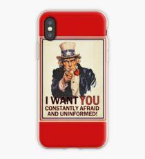 Afraid & Uniformed iPhone Case