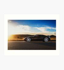 Aston Martin V12 Vantage Art Print