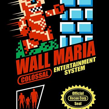 Wall Maria Entertainment System by 4yourenjoyment