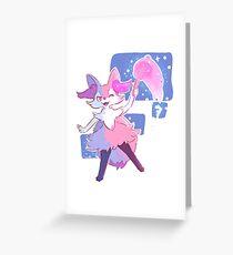 Braixen Greeting Card