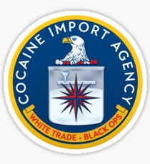 CIA (Cocain Import Agency) Sticker