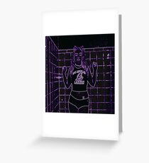 Queen Kobe Greeting Card
