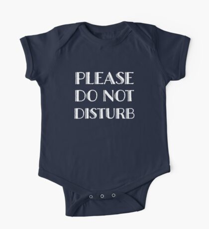 Do Not Disturb Kids Clothes