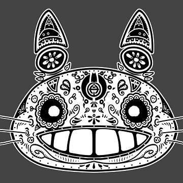 Totoro - Day of the Dead by telurico
