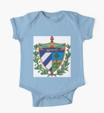 Cuban Coat of Arms If you like, please purchase, try a cell phone cover thanks One Piece - Short Sleeve