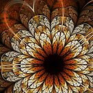 Passion - Abstract Fractal Artwork by EliVokounova