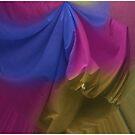 Painted Sheets Abstract No 17 by Wayne King