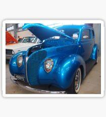 Blue Cruiser Sticker