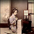 Kimbei Writing Letter Resellable by Tantragoddess