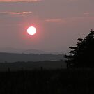 Sunset Land, Derry, Ireland. by mikequigley