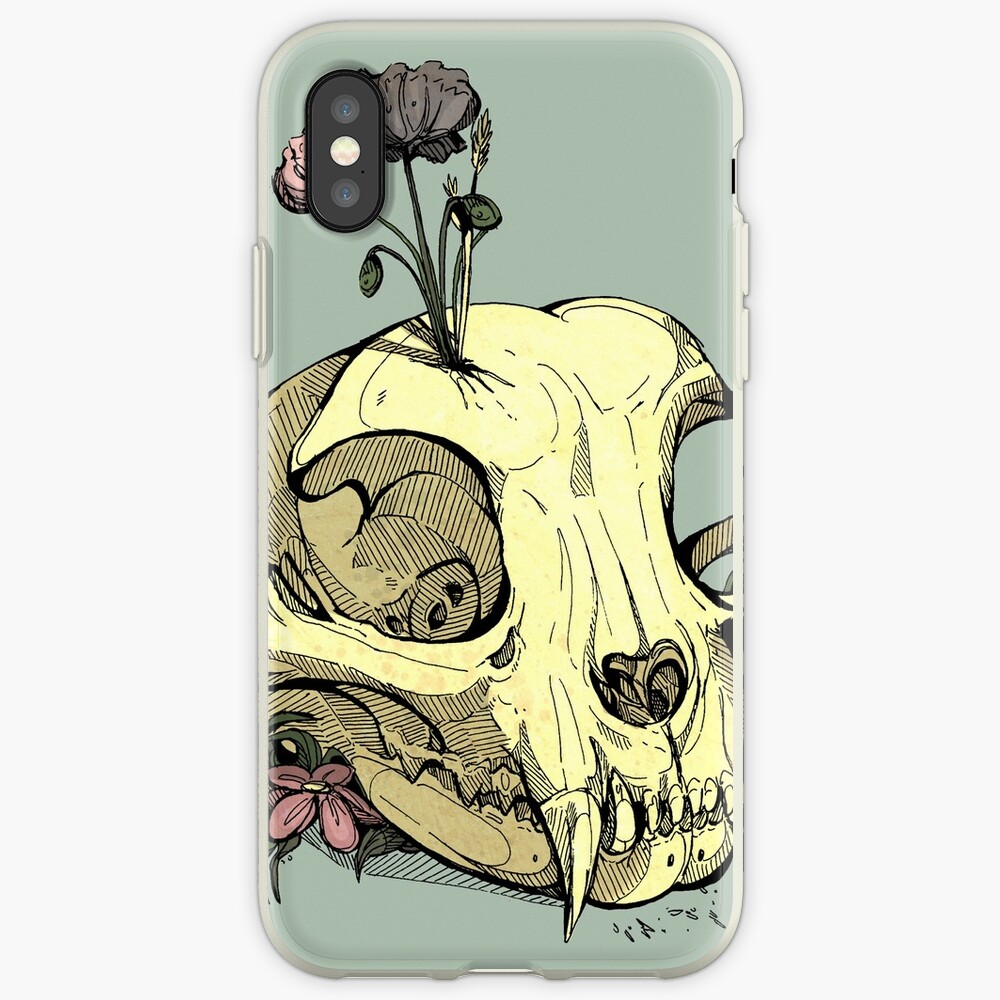 Little Skull Colour iPhone Case & Cover