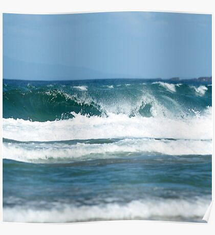 Just waves Poster