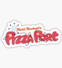 Redd Rockett's Pizza Port Sticker