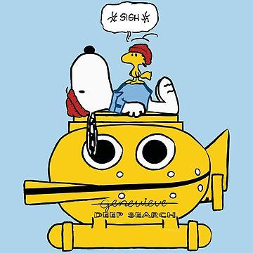 Snoopy Zissou by telurico