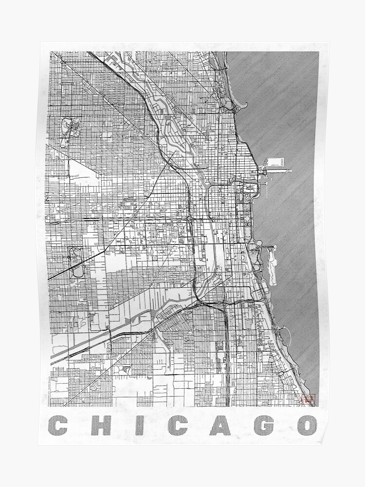Chicago Map Line
