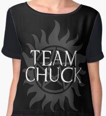 Supernatural - Team Chuck Women's Chiffon Top