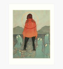 Spirits of the Lake Art Print