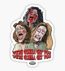 The Evil Dead Women Sticker
