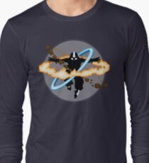 Aang going into uber Avatar state Long Sleeve T-Shirt