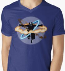 Aang going into uber Avatar state Men's V-Neck T-Shirt