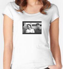 Casper & Telly  Women's Fitted Scoop T-Shirt