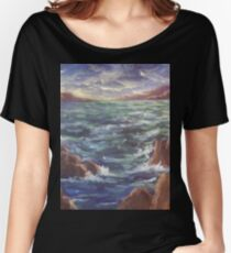 Lighthouse in the Distance AC150426 Women's Relaxed Fit T-Shirt