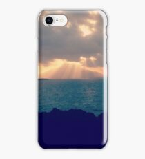 Dominican Republic sunset iPhone Case/Skin