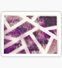 Violet Blades Sticker