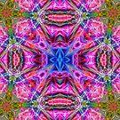 Neon Fractal Art by Tori Snow