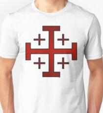 Templar Cross 12 Unisex T-Shirt