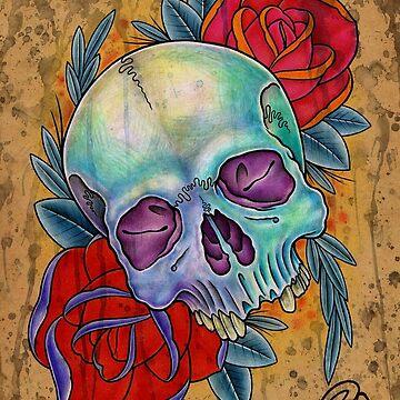 Skull by asplashofcolor