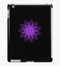 Fractal Flower - Purple iPad Case/Skin
