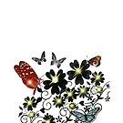 BUTTERFLY-VINTAGE by LJYOUNG