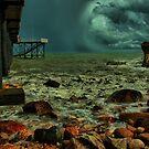 Storm, Nightcliff Jetty, Darwin by Keith McGuinness
