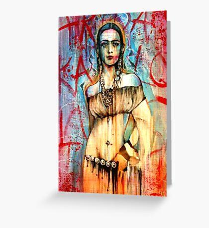 Frida Does Kahlo Greeting Card