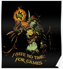 No Time for Games Poster